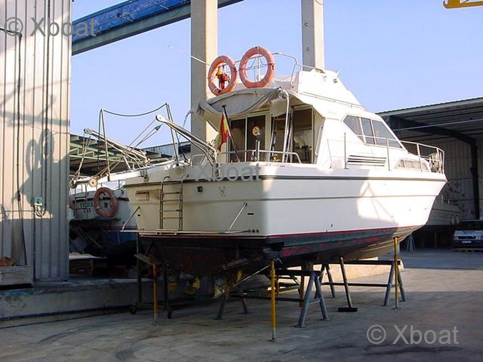 vedette marine project - princess 30 ds fly