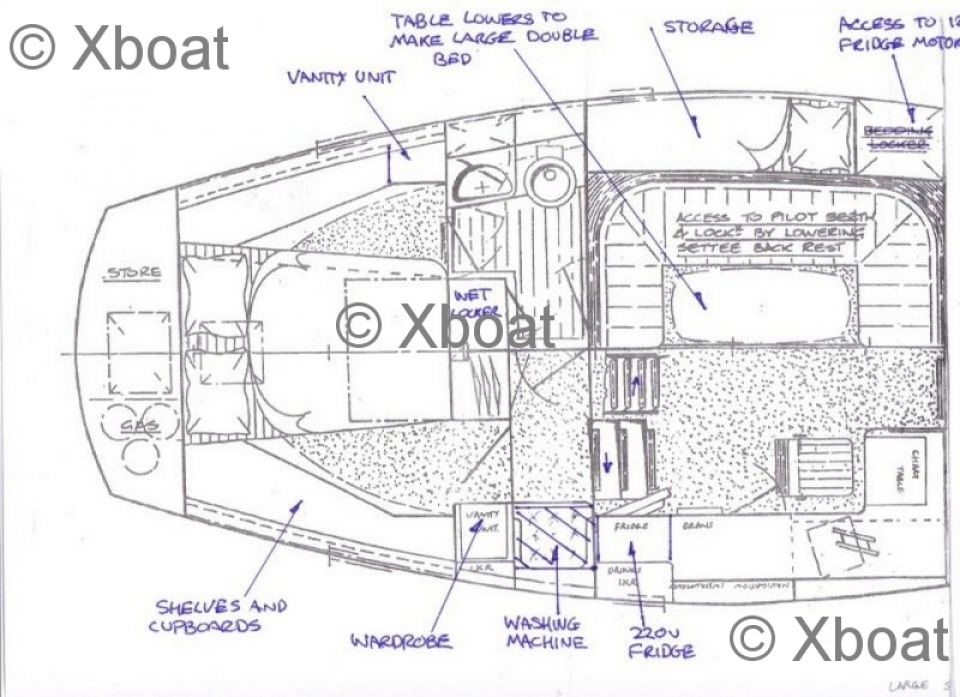 voilier colvic craft - colvic victor 40 ds cc ketch
