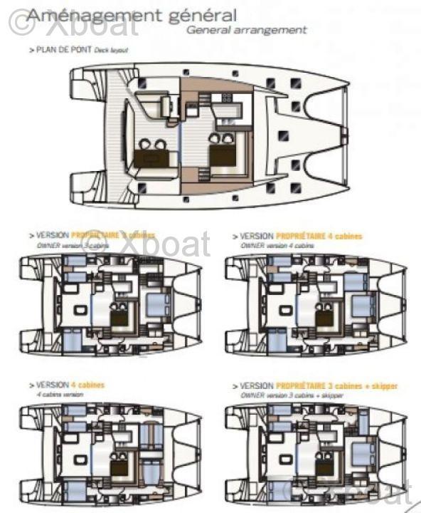 voilier privilege marine - privilege serie 5